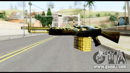 M63 from Metal Gear Solid for GTA San Andreas