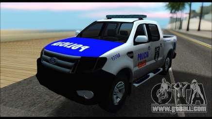 Ford Ranger P.B.A 2015 Text4 for GTA San Andreas