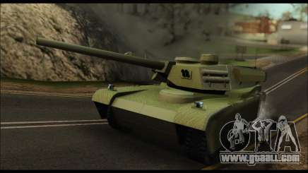Retextured Rhino Tank for GTA San Andreas