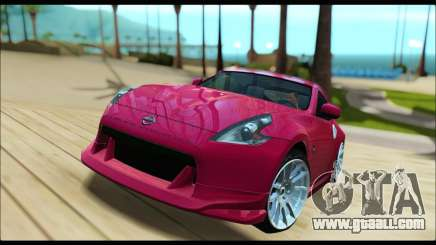 Nissan 370Z 2010 Stanced for GTA San Andreas