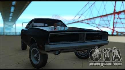 Dodge Charger RT hardtop for GTA San Andreas