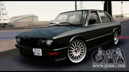 BMW M5 E28 Christmas Edition for GTA San Andreas