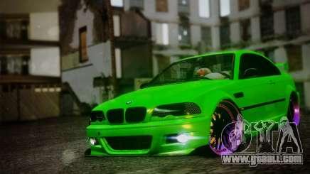 BMW M3 E46 MILKA for GTA San Andreas