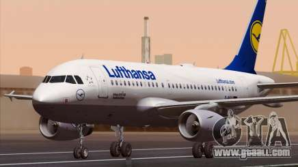 Airbus A319-100 Lufthansa for GTA San Andreas