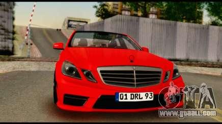Mercedes-Benz E250 for GTA San Andreas