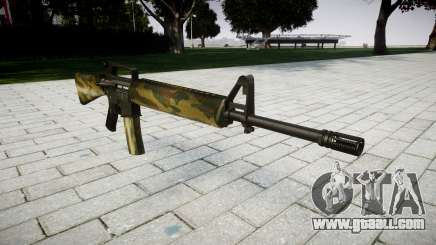 The M16A2 rifle flora for GTA 4