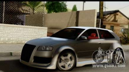 Audi A3 Tuning for GTA San Andreas