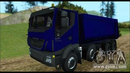Iveco Trakker 2014 Tipper for GTA San Andreas
