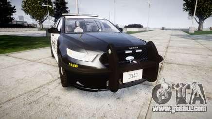 Ford Taurus 2014 County Sheriff [ELS] for GTA 4