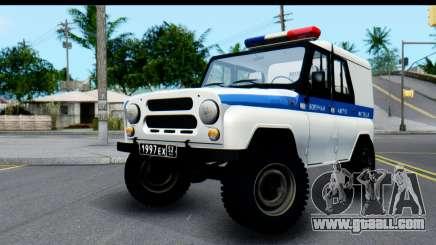 UAZ 469 VAI for GTA San Andreas