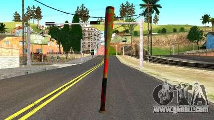 Baseball Bat with Blood for GTA San Andreas