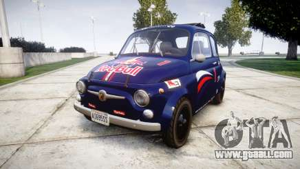Fiat 695 Abarth SS Assetto Corse 1970 Red Bull for GTA 4