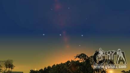 Realistic sky (Sky Mod) for GTA San Andreas