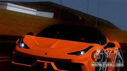 Ferrari 458 Special for GTA San Andreas