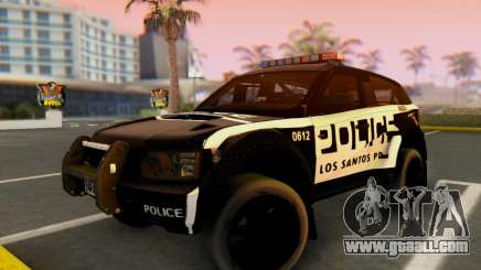 Bowler EXR S 2012 v1.0 Police for GTA San Andreas