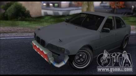 BMW e39 Drag Version for GTA San Andreas