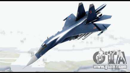 SU-34 Fullback PJ for GTA San Andreas