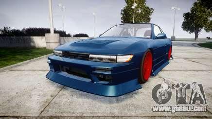 Nissan Silvia S13 1JZ for GTA 4