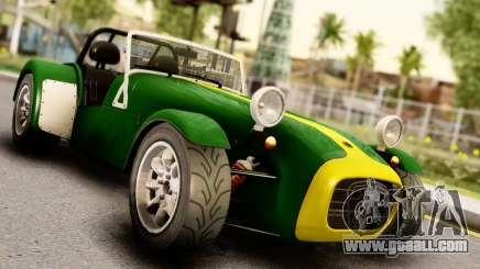 Caterham Seven 1995 for GTA San Andreas
