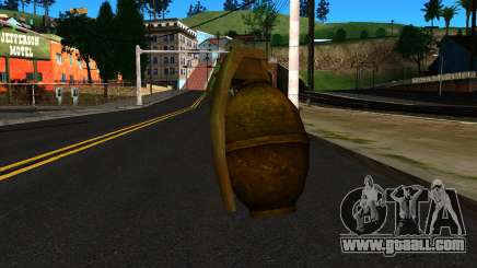 Grenade from GTA 4 for GTA San Andreas