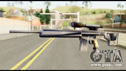 PSG1 from Metal Gear Solid for GTA San Andreas