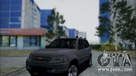 Chevrolet Niva for GTA San Andreas