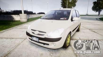 Hyundai Getz 2006 for GTA 4