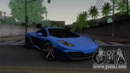McLaren MP4-12C Gawai v1.5 HQ interior for GTA San Andreas