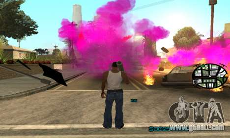 New Pink Effects for GTA San Andreas forth screenshot