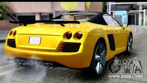 GTA 5 Obey 9F Cabrio IVF for GTA San Andreas left view