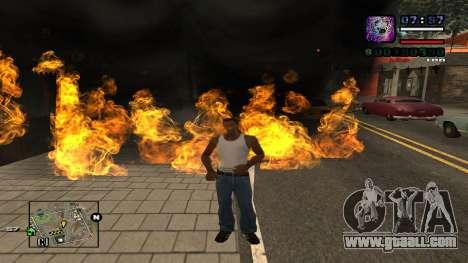 C-HUD Politra for GTA San Andreas second screenshot