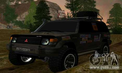 Mitsubishi Pajero Off-Road for GTA San Andreas