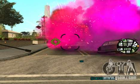 New Pink Effects for GTA San Andreas third screenshot