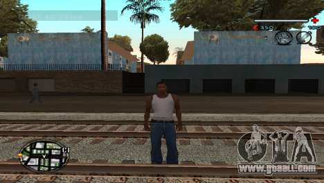 C-HUD Gray for GTA San Andreas