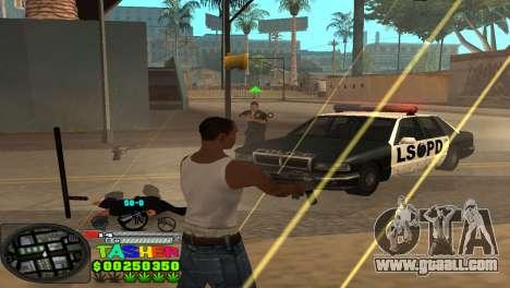 C-HUD Tasher for GTA San Andreas fifth screenshot