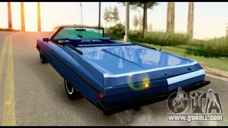Chevy Caprice 1975 Beta v3 for GTA San Andreas left view