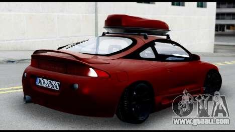 Mitsubishi Eclipce for GTA San Andreas left view