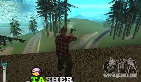 C-HUD Tasher for GTA San Andreas second screenshot