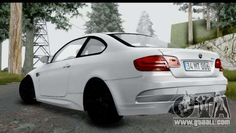 BMW M3 E92 Hamann Edition for GTA San Andreas left view