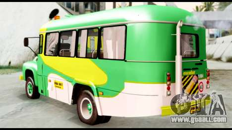 Ford Bus 1956 for GTA San Andreas left view