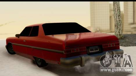 Chevy Caprice 1975 for GTA San Andreas left view