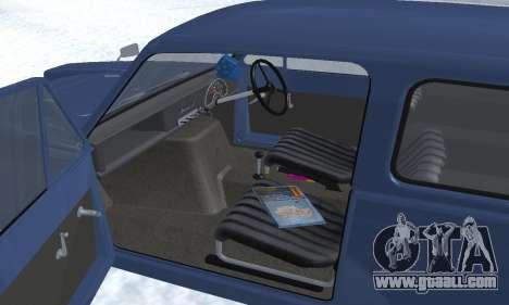 Reliant Supervan III for GTA San Andreas wheels