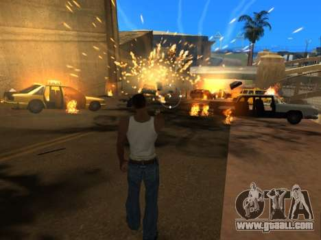 Realistic Effects v3.4 by Eazy for GTA San Andreas fifth screenshot