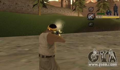 C-HUD TaweR Green for GTA San Andreas second screenshot