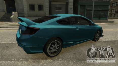 Honda Civic Si 2013 v1.0 for GTA 4 left view
