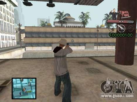 C-Hud Yakuza II for GTA San Andreas
