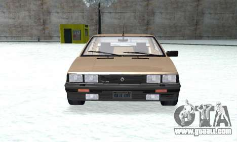 Renault 11 Turbo Phase I 1984 for GTA San Andreas right view