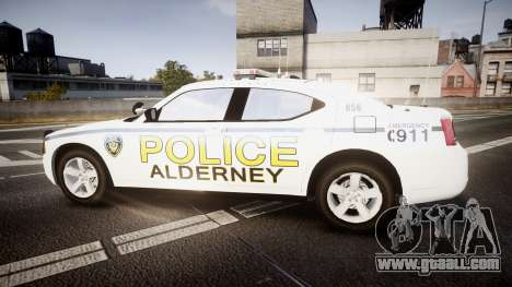 Dodge Charger 2006 Alderney Police [ELS] for GTA 4 left view