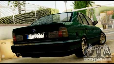 BMW 525 E34 for GTA San Andreas