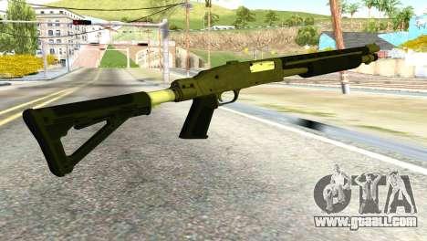 Shotgun from GTA 5 for GTA San Andreas second screenshot